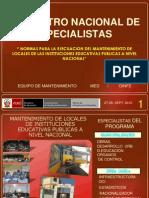 Encuentro Nacional de Especialistas Nacional Med-oinfe