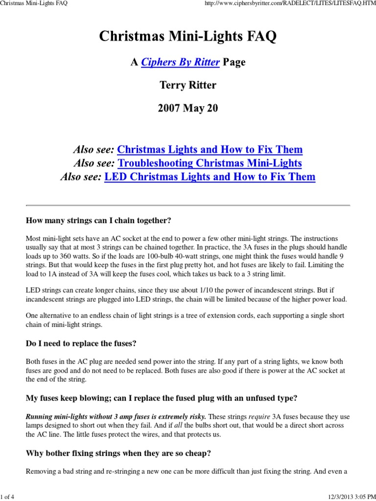 Christmas mini lights faq series and parallel circuits ac power christmas mini lights faq series and parallel circuits ac power plugs and sockets publicscrutiny Image collections