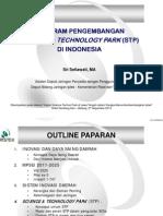 Program Pengembangan Science Techno Park di Indonesia