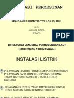 Marine Inspector Listrik