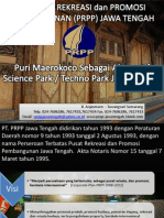 Potensi Pengembangan Science Techno Park Maerokoco di Semarang