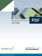 ManageEngine ServiceDeskPlus 8.1 Help UserGuide