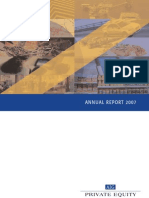 AIG Private Equity 2007 Annual Report