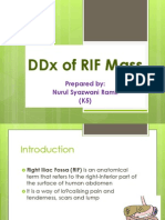 DDx of RIF Mass (Syazwani)