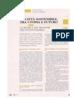 """Cerqua Alessia, """"La citta sostenibile tra utopia e futuro"""""""