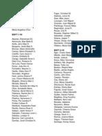 1st Seminar Participants