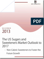 Growing Demand of Sugar in the Industrial Sector to Drive the Sugars and Sweeteners Market in the US