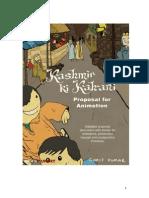 Kashmir Ki Kahani - Animation Document
