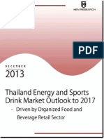 Organized Retail Stores to Propel the Energy and Sports Drink Market in Thailand