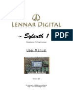 Sylenth 1 Manual