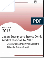 Japan Energy and Sports Drink Market Continued to be Dominated by Red Bull and Oronamin C