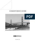 HP Euro Student Guide 1998