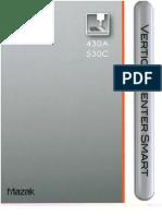 Mazak VCS Catalog 530 C
