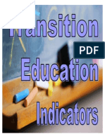 transition education indicators