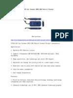 GT02A GPS Car Tracker GPRS GSM Vehicle Tracker