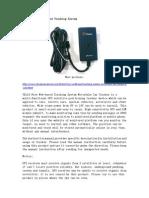 TK118 Free Web-Based Tracking System