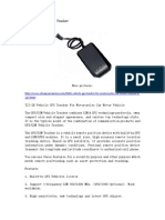 TLT-2H Vehicle GPS Tracker