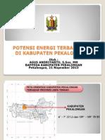 Potensi Biomasa Sebagai Alternatif Baru Terbarukan di Kabupaten Pekalongan
