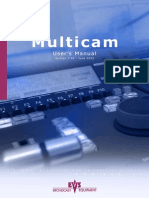 EVS Multicam User manual 7.00.44(English)
