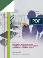 Market Intelligence with Social Media_Executive Seminar_Agenda_2009