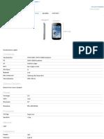 Galaxy Trend - Specifiche Samsung