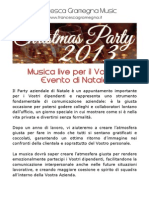 Christmas Party 2013 - Francesca Gramegna Music
