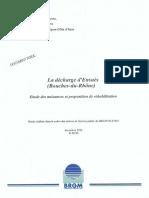 rapport BRGM decharge Ensuès