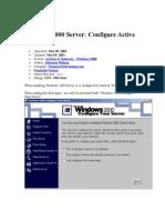 DNS Server Configuration in Windows 2000 Server