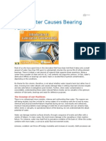How Water Causes Bearing Failure