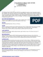 Parent Handbook Updated July 2009