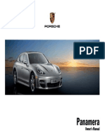 Porsche Panamera Owners Manual