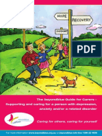 Guide for Carers – Supporting and caring for a person with depression anxiety and or a related disorder