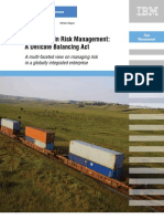 Supply Chain Risk Management (IBM) Management