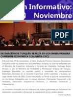 Embajada Colombia en Turquia Boletin Noviembre 2013