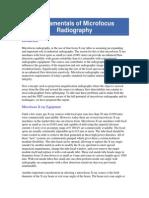 Fundamentals of Microfocus Radiography