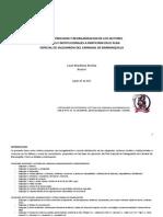 Analisis y Reorganizacion de Actores