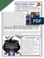 Octobernewsletter 2013