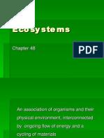 Ecosystems)