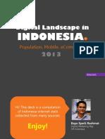 digitalmarketinglandscapeinindonesiaforslideshare-130918033411-phpapp01