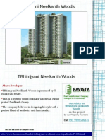 Neelkanth Woods Price List Call @ 09999536147 In Manpada Thane Mumbai