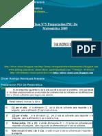 Presentación N°7 PSU De Matemática - Evaluación De Suficiencia De Datos