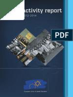 EUJS Activity Report 2012 - 2014