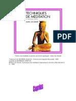 Marc de Smedt Tehnici de Meditatie Si Practici a Trezirii Spirituale