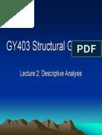 GY403 Lecture2 DescriptiveAnalysis BaseMaps