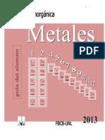 Metales Integrado Guia Alumnos