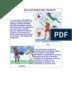 Resumen Ilustrado Del Quijote