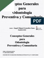 ConceptosGeneralesparaOdontologiaPreventivayComunitaria