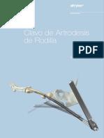 T2 artrodesis rodilla español