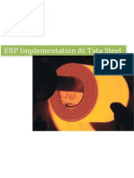 ERP Implementation at Tata Steel