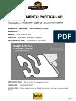 reglamento TROFEO INVERNAL 2014